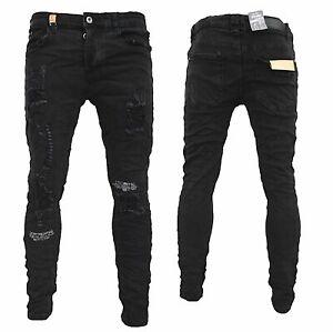 Herren Jeanshosen  Stretch Hose  Jeans  Slim fit  SUPER SKINNY Jeans OMG jeans