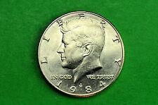 1984-P  BU  Mint State Kennedy US Half Dollar Coin