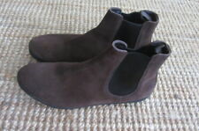 Car shoes by Prada suede brown boots, size 7,AUS 9.5, worn once