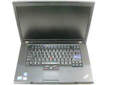 """Lenovo T510 15.6"""" Laptop 2.40 Ghz i5-M 520 4GB RAM (Grade B No Battery, Webcam)"""