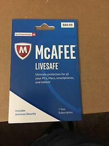 Mcafee Live safe 2017