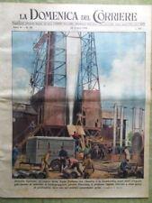 La Domenica del Corriere 26 Giugno 1949 Baseball Petrolio Costello Lupino Patria