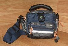 Samsonite (SB609BLU) Blue Multi-Pocket Digital Camera Bag w/ Compass **READ**