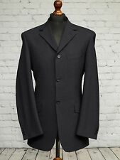 **Sale** Remus Uomo Single Breasted Navy Blue Pinstripe Suit Jacket 38L