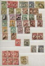 More details for australia: used kangaroo examples - ex-old time collection - album page (41997)