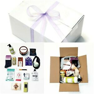 Luxury Gift Box 16pc Set Curated For Women Spa Beauty Skin Care & Scented Candle