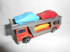 BEDFORD TRANSPORTEUR DE VOITURES - Matchbox