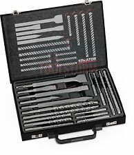 18 Piece SDS Masonry Drill And Chisel Set Fit OZITO/MAKITA/DEWALT/BOSCH/HITACHI