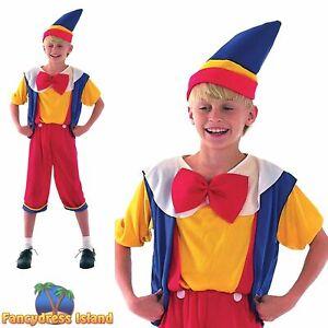 KIDS FAIRYTALE BUDGET PINOCCHIO PUPPET - Age 3-13 - Boys Fancy Dress Costume