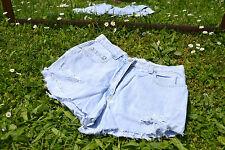 Kenny S. Womens Vtg Custom Hot Pants Shorts Re-worked Cut off Distress sz M Q40