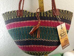 Alaffia Authentic Shoulder Basket