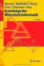 Grundzüge der Wirtschaftsinformatik (Springer-Lehrbuch) ... | Buch | Zustand gut