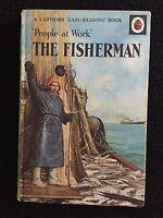 The Fisherman ~ Vintage Ladybird ~ People At Work Series 606B