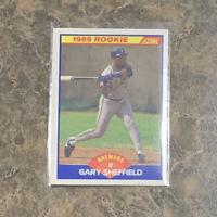 Gary Sheffield 1989 Score #625 Milwaukee Brewers RC Rookie baseball card