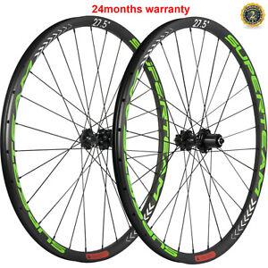 27.5er Carbon Mountain Bicycle Wheels Tubeless MTB Wheelset Disc Brake Wheels