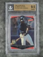 BGS 9.5 ALFONSO SORIANO 1999 Upper Deck Ultimate Victory #136 Rookie Graded Card
