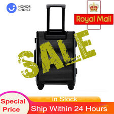 "HONOR 20"" Luggage Suitcase Aluminum Alloy Hardshell Lighweight Black friday"