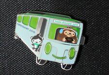 Transport Bus miga and quatchi  AUTHENTIC Vancouver 2010 Winter Olympic  PIN