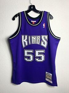 Retro Jason Williams #55 Sacramento kings Basketball Swingman Jersey Black