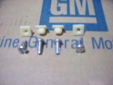 correct GM license plate screws Pontiac GTO Chevy Chevelle Camaro Trans am 442