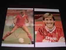 Liverpool FC Legend Kenny Dalglish signé réimpression 2 photographies