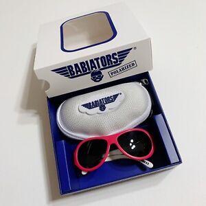 Babiators Polarized Surf's Up Baby Sunglasses Pink Watermelon 0-3M 3M NEW NIB