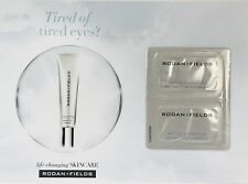 5 Sample Cards Rodan + and Fields Samples Active Hydration Bright Eye Complex