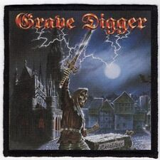 GRAVE DIGGER PATCH / SPEED-THRASH-BLACK-DEATH METAL