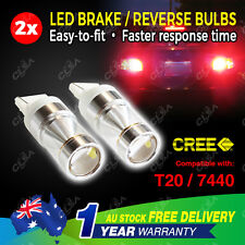 2PCS CREE High Power T20 7440 12V 60W LED Car Light Reverse Brake Stop Tail Bulb