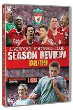 LIVERPOOL FC: SEASON REVIEW 2008/2009 DVD: 0/All lfc 08/09