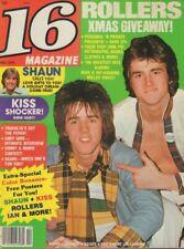 16 magazine February 19787 KISS Shaun Cassidy 021419DBE