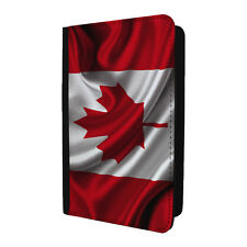 Country Flag Canadian Passport Holder Case Cover - ST-T2349