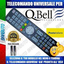 TELECOMANDO UNIVERSALE QBELL^ CLICCA SUL TUO MODELLO E LO RICEVERAI GIA PRONTO