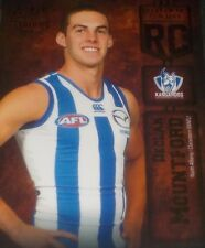 2016 AFL Select Certified Rookie Card #RC60 Delcan Mountford Kangaroos 79 of 240