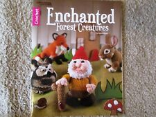 ENCHANTED FOREST CREATURES stuffed amigurumi animal toy pattern book