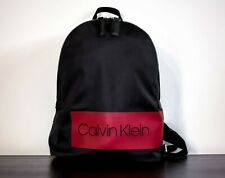 CALVIN KLEIN 'Block Out' Men's Box Logo Backpack
