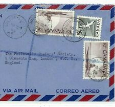 CANADA Quebec Cover *LIMIOLOU* Registered Air Mail 1959 {samwells-covers}EE194
