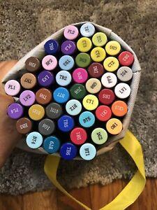 Bundle of 47  Spectrum Noir Professional Alcohol Markers