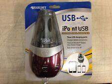 Westcott Titanium Bonded iPoint USB Charging Station Pencil Sharpener 16548