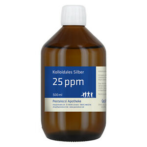 Kolloidales Silber 25 ppm (Silberwasser) - aus Apothekenherstellung