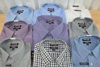NWT Men's Kirkland Signature Tailored Fit Button Down Dress Shirt - VARIETY!
