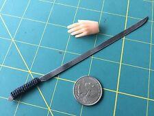 """Paracord Tactical Sword"" 1:6 Scale Custom Steel Miniature By Auret"
