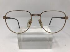 Vienna Line Sunglasses Icm Optyl 54-18-1140 Gold Black B840