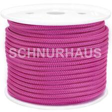 Schot Tauwerk cord rope 3mm PP 150daN Reepschnur 100m orange Leine Seil Schnur
