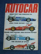 "July Motor Cars, 1970s Magazines"""