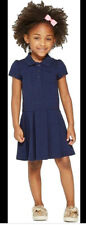 Cat N Jack School Uniform Navy Dress Pleated Short Sleeve Size Xl 14/16 Nwt