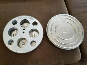 "Kodascope Empty Metal 7"" Reel with Eastman Kodak Metal Canister"