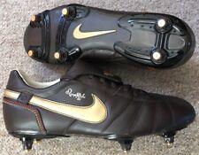 NEW NIKE RONALDINHO 10 SG FOOTBALL BOOTS UK 8