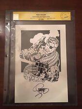 Jim Steranko Original Art CGC Signature Series Nick Fury Comic Art