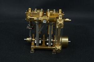 Zweizylinder-Dampfmaschine Live Steam